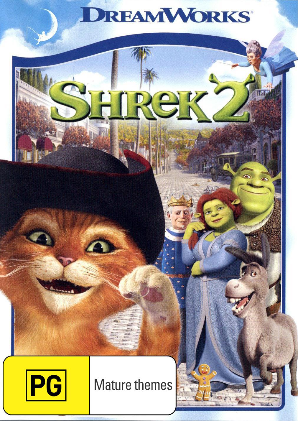 Shrek 2 (New Packaging) on DVD image