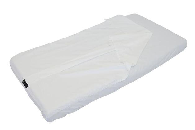 Mum 2 Mum USA Cot Sleeping Bag - White