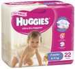 Huggies Ultra Dry Nappies - Crawler Girl 6-11kg (22)