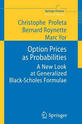 Option Prices as Probabilities by Christophe Profeta