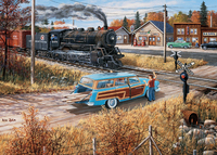 Holdson: Junction Times Deerwood Crossing - 1000pc Puzzle