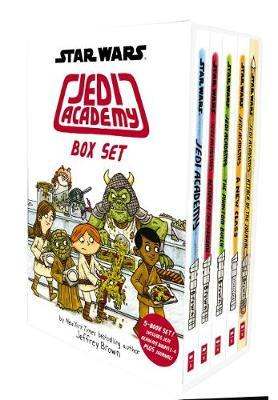 Jedi Academy 5 Book Box Set by Jeffrey Brown image