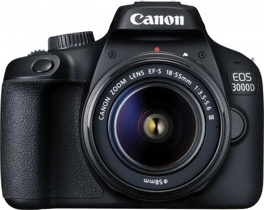 Canon EOS 3000D 18MP DSLR Camera (EFS 18-55 III) image