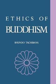 The Ethics of Buddhism by Shundo Tachibana image
