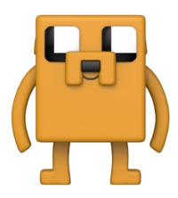 Adventure Time x Minecraft - Jake Pop! Vinyl Figure
