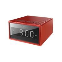 Creative Chrono Wireless Bluetooth Speaker and FM radio clock - Red image