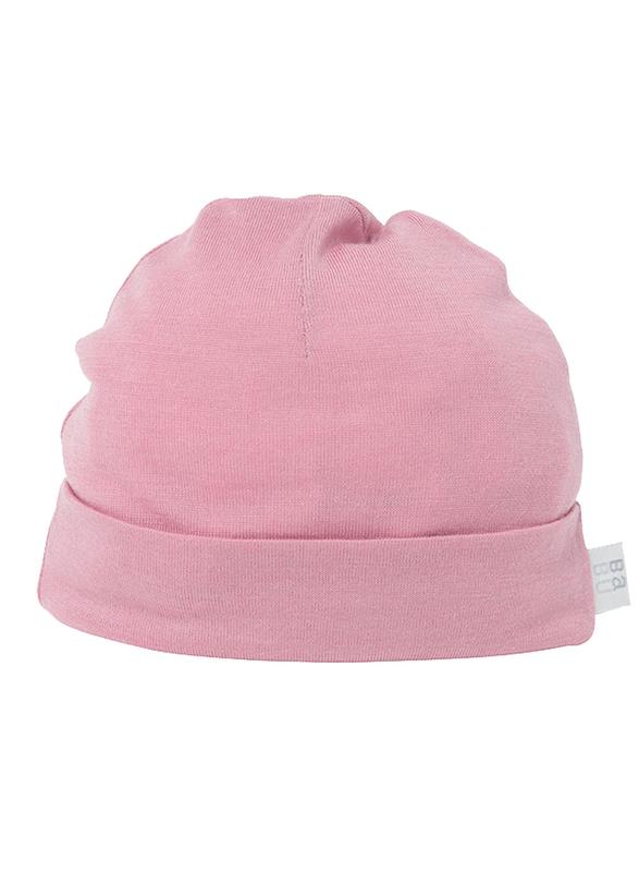 Babu: Merino Wool Hat - Pink (6-12m)