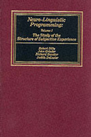 Neurolinguistic Programming: v. 1 by Robert D. Dilts image