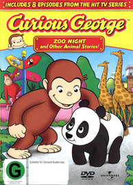 Curious George - Vol. 1: Zoo Night And Other Animal Stories! on DVD image