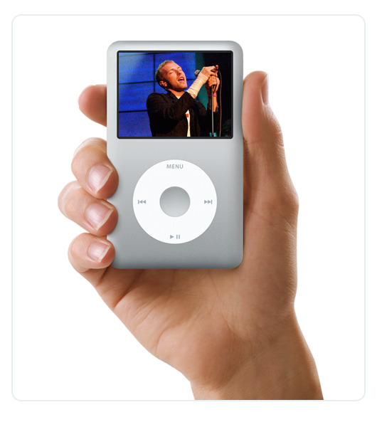 Apple - iPod classic 80GB Silver