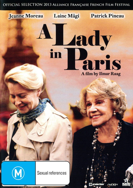 A Lady In Paris on DVD