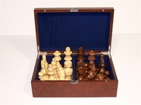Dal Rossi Chess Piece Box with 95mm Pieces
