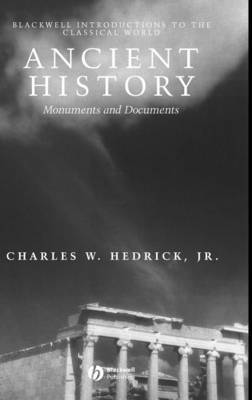 Ancient History by Charles W Hedrick image