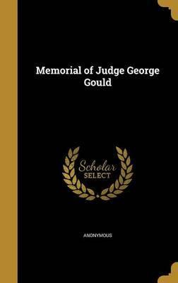 Memorial of Judge George Gould image