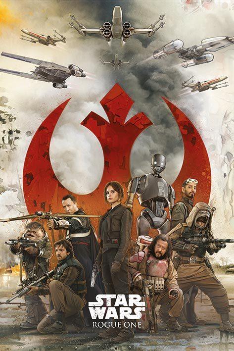 Star Wars Rogue One - Rebels Maxi Poster (593)