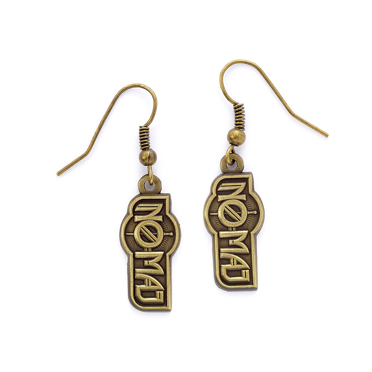Fantastic Beasts No-Maj Earrings (antique brass plated) image