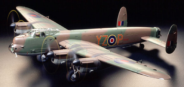 Tamiya 1/48 Grand Slam Bomber Lancaster - Model Kit