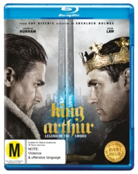 King Arthur: Legend of the Sword on Blu-ray