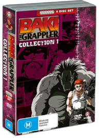 Baki The Grappler - Collection 1 (6 Disc Fatpack) on DVD image
