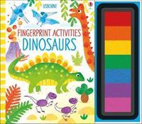Fingerprint Activities Dinosaurs by Fiona Watt