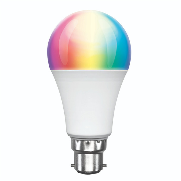 Brilliant Smart: WiFi LED Smart Light Bulb B22 - RGB