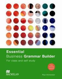 Essential Business Grammar Builder: Student's Book by Paul Emmerson