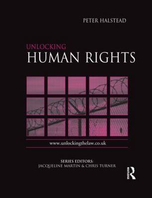 Unlocking Human Rights by Peter Halstead image