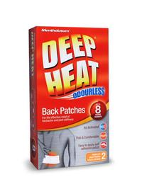 Deep Heat Back Patches