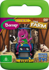Barney - Let's Go To The Farm on DVD