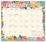 Bold Blossoms Magnetic Monthly Pad