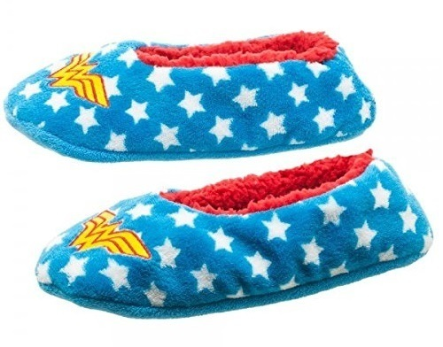 DC Comics: Wonder Woman Cozy Slipper Socks (L/XL)