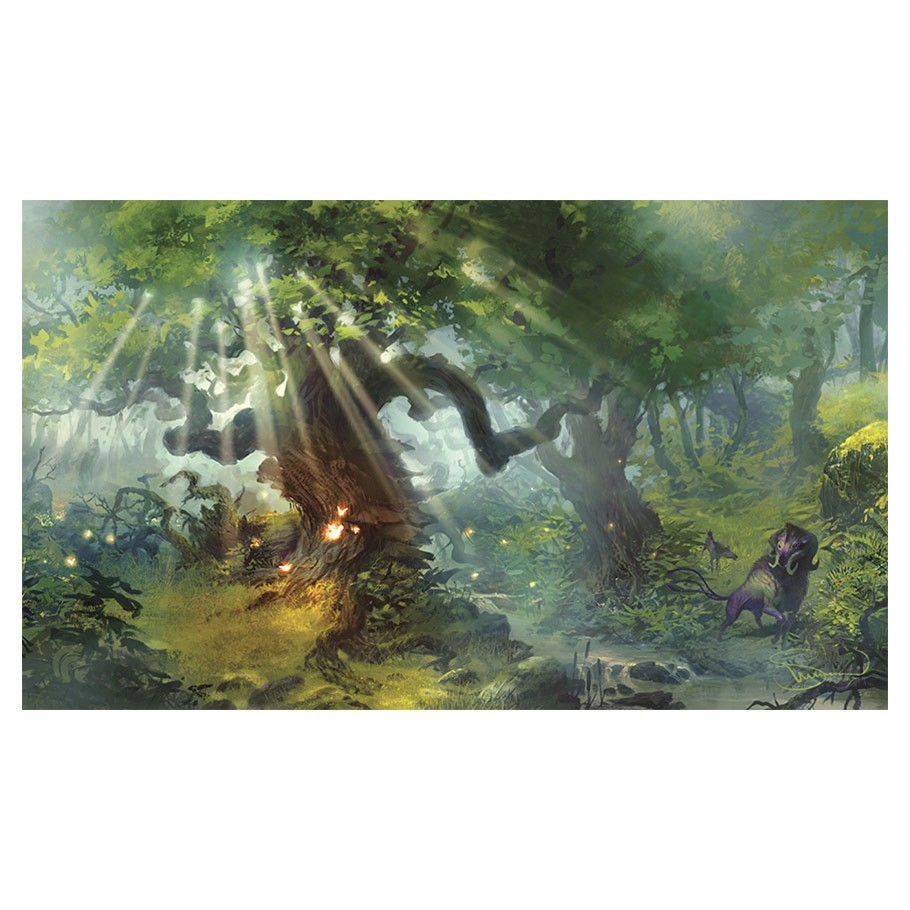 Legion: Gaming Play Mat - Lands Forest image