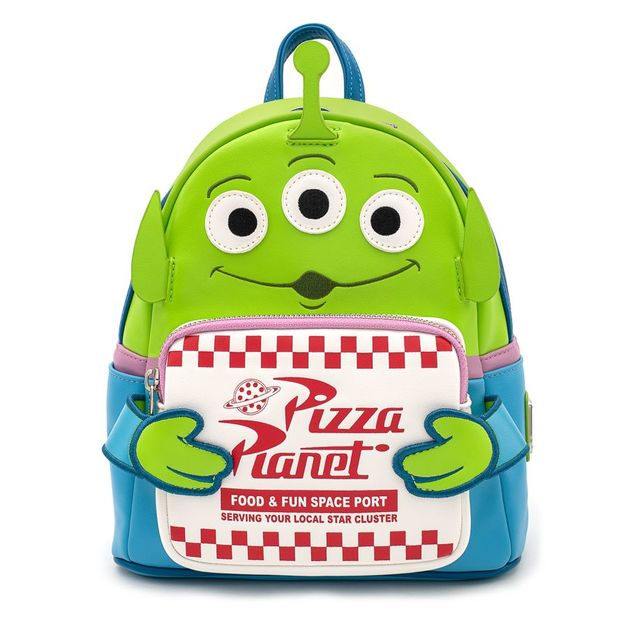 Loungefly: Disney Toy Story Alien Pizza Box Mini Backpack