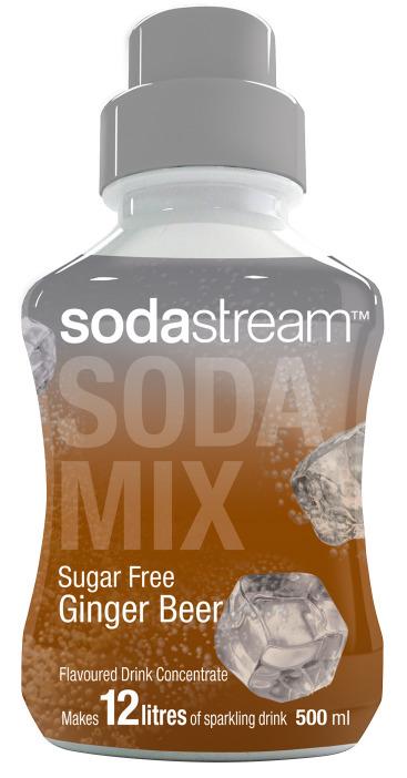 SodaStream Diet Ginger Beer - 500ml Syrup