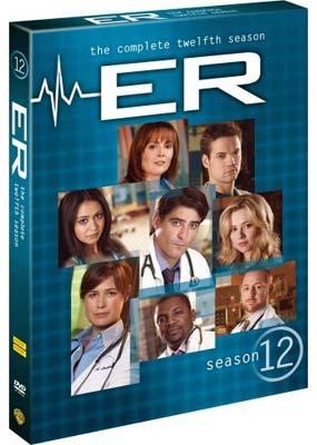 E.R. - The Complete 12th Season (6 Disc Set) on DVD image