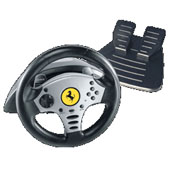 Ferrari Challenge Racing Wheel for PlayStation 2