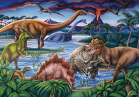 Ravensburger 35 Piece Jigsaw Puzzle - Dinosaur Playground