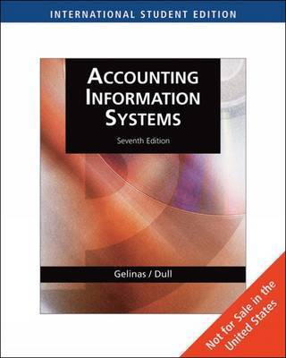 Accounting Information Systems by Ulric J. Gelinas