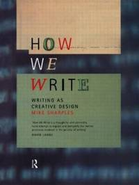 How We Write by Mike Sharples image