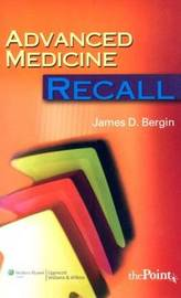 Advanced Medicine Recall by James D. Bergin image