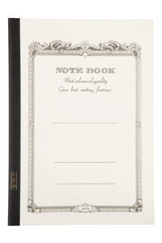 Apica A5 Lined Notebook - White