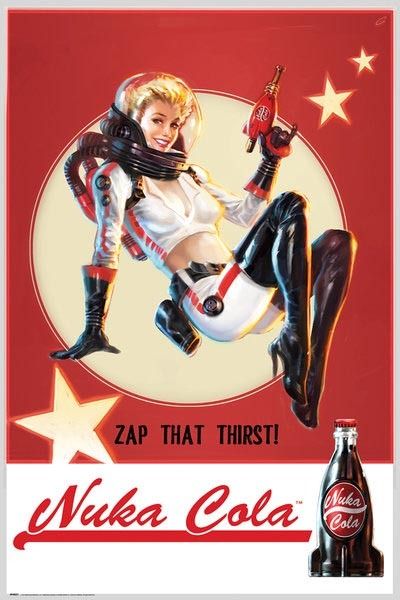 Fallout 4 - Nuka Cola Wall Poster (412)