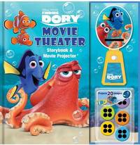 Disney-Pixar Finding Dory Movie Theater Storybook & Movie Projector by Bill Scollon