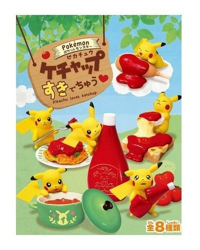 Pokemon: Pikachu Ketchup - Suki De Chu Mini-figure (Blindbox) image