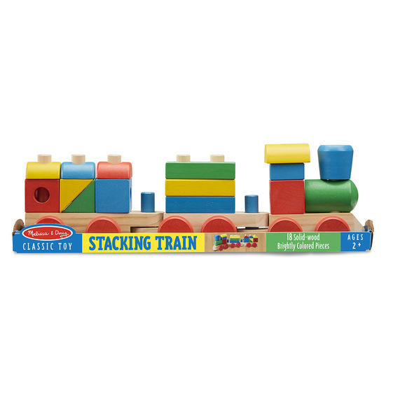 Melissa & Doug: Wooden Stacking Train image