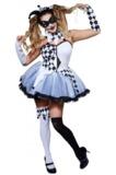 Jesterlla - Ladies Costume (Large)