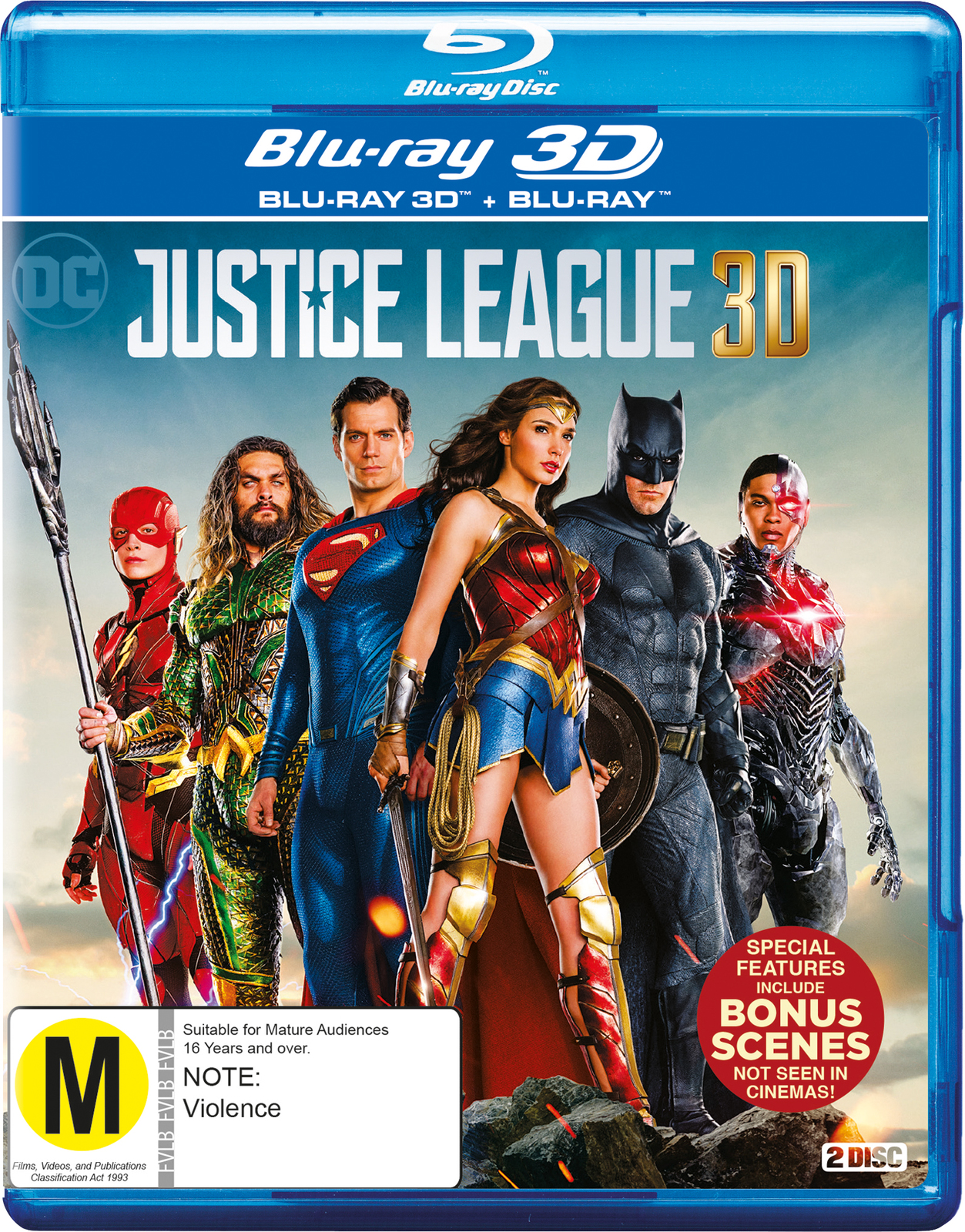 Justice League on 3D Blu-ray image