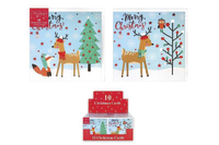 RSW: Boxed Christmas Cards - Fox & Deer (10 Pack)