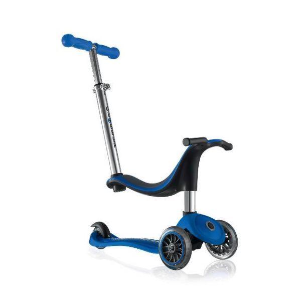 Globber: Evo 4in1 - 3 Wheel Scooter (Navy Blue)