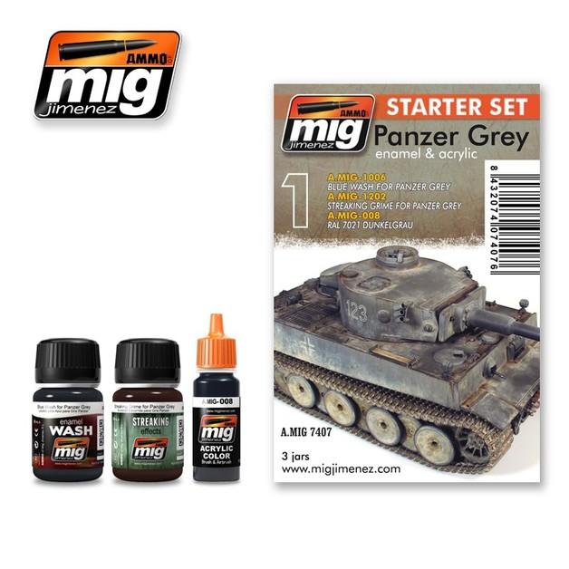 Panzer Grey Starter Set